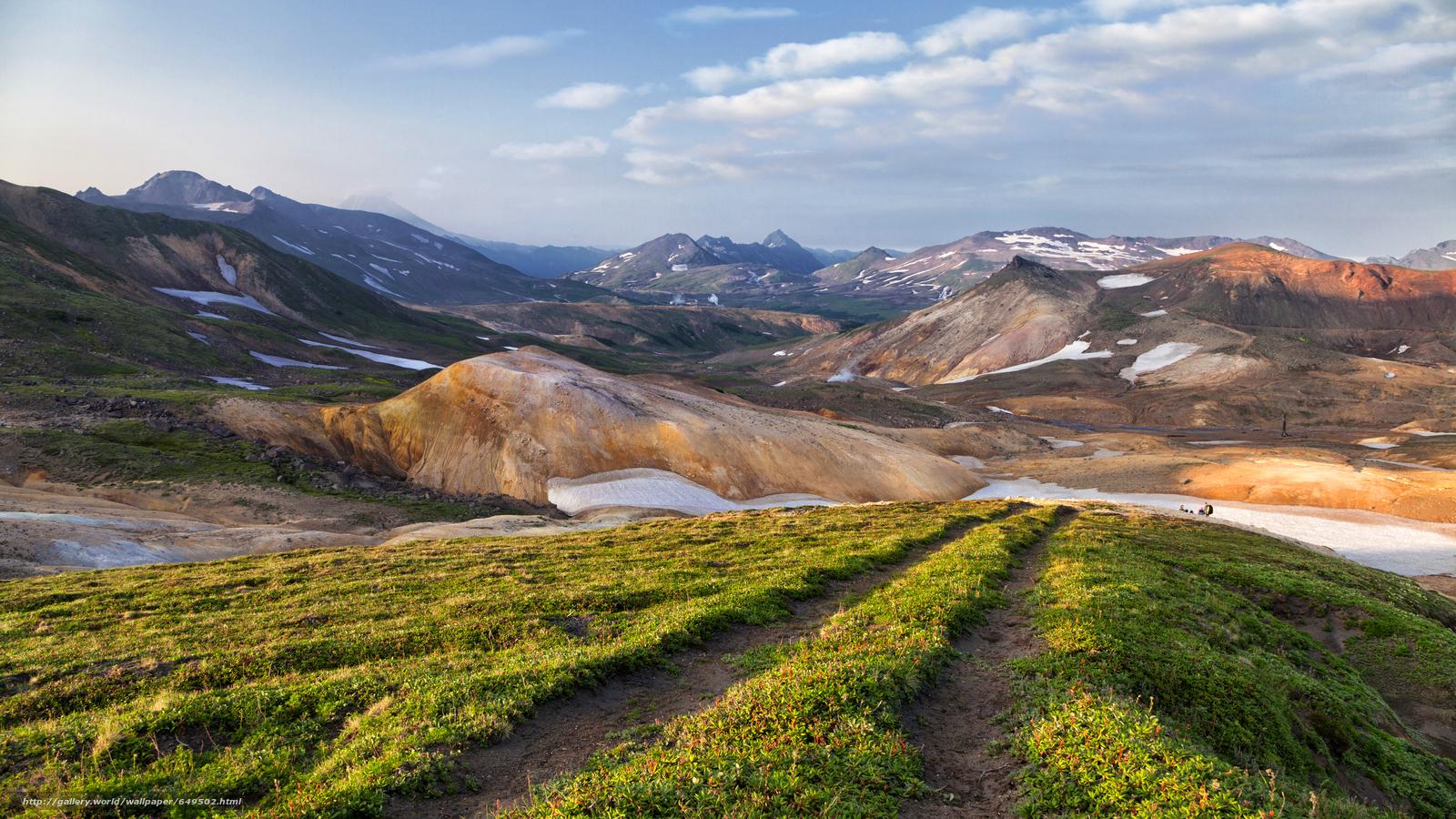 Descargar gratis Kamchatka,  Rusia,  Montañas,  campo Fondos de escritorio en la resolucin 5616x3159 — imagen №649502
