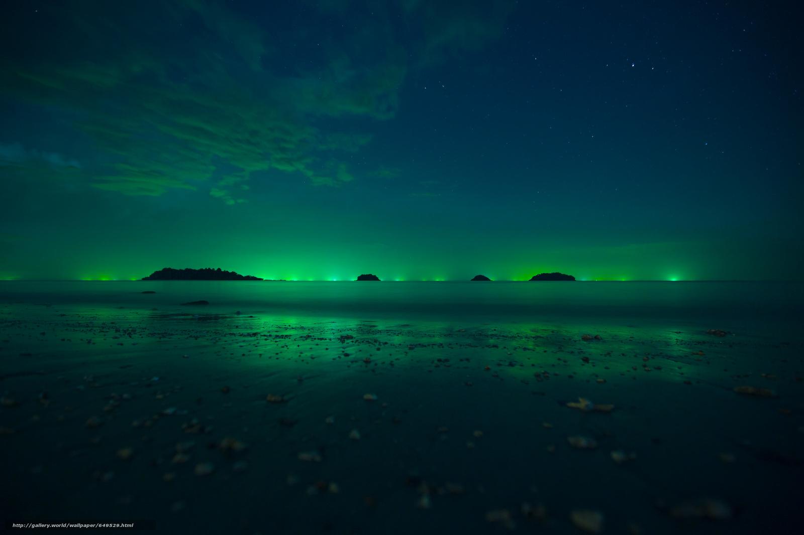 scaricare gli sfondi aurora boreale,  Luci Polar,  cielo,  Stella Sfondi gratis per la risoluzione del desktop 2048x1365 — immagine №649529