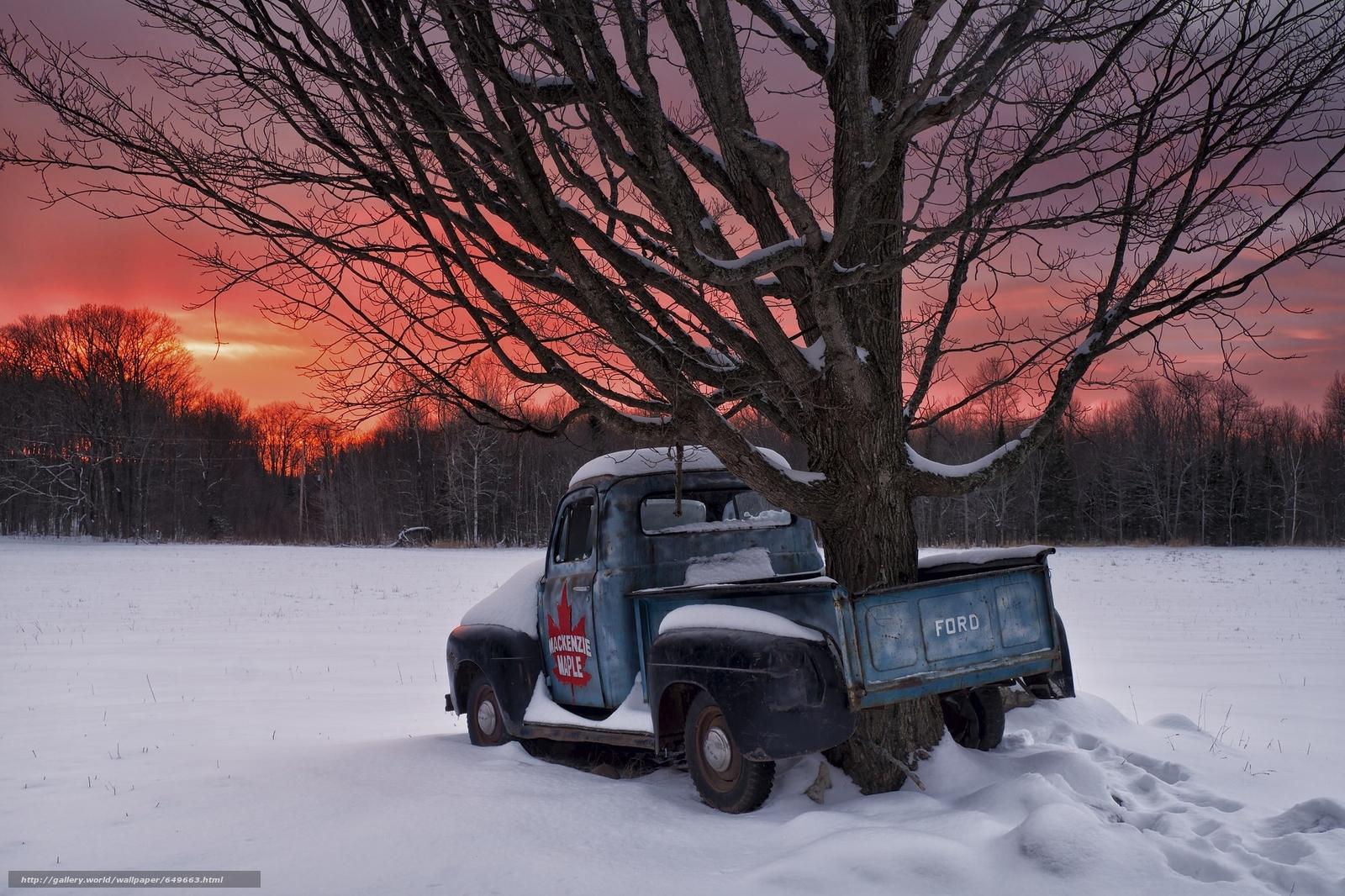 Скачать обои Ontario,  Canada,  1951 Ford F1,  Онтарио бесплатно для рабочего стола в разрешении 2048x1365 — картинка №649663