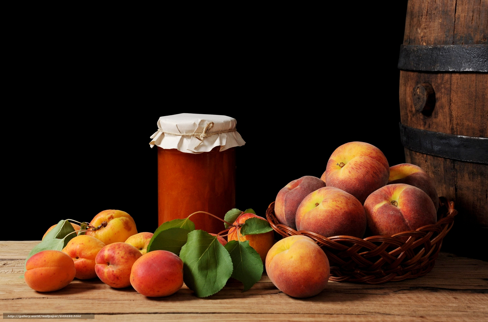 Скачать обои натюрморт,  еда,  фрукты,  персики бесплатно для рабочего стола в разрешении 6520x4300 — картинка №649690