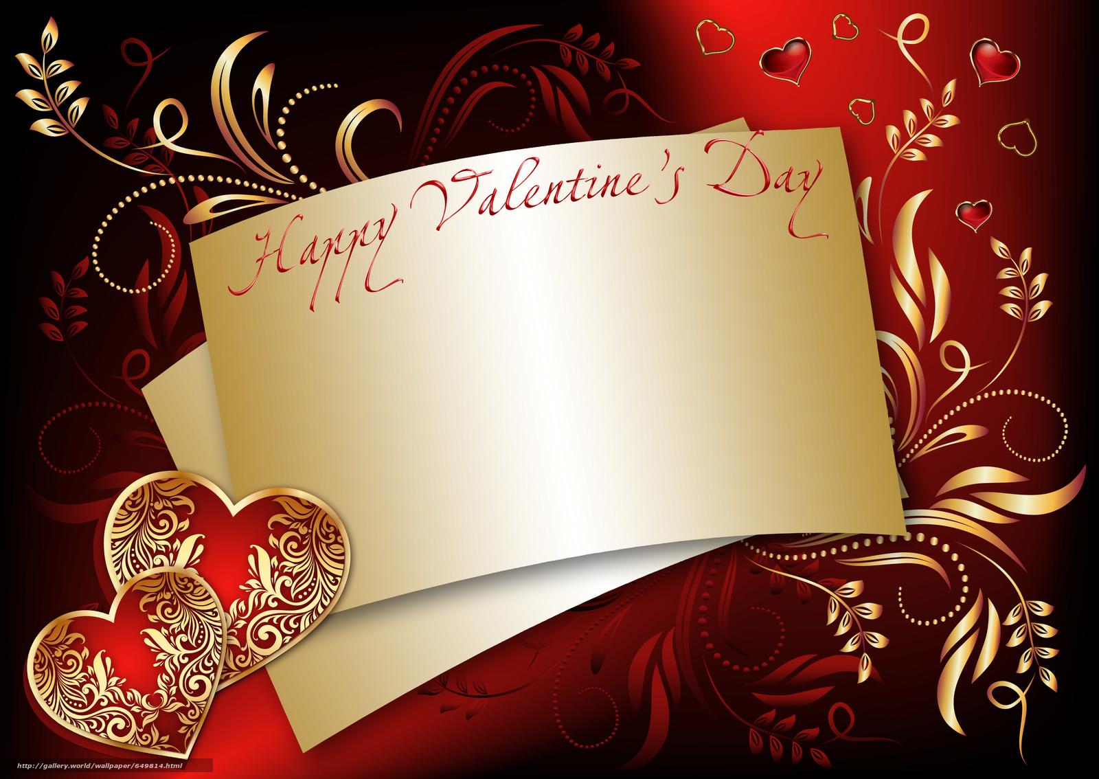 Скачать обои Валентинки,  Валентинка,  День святого Валентина,  день влюблённых бесплатно для рабочего стола в разрешении 5900x4180 — картинка №649814
