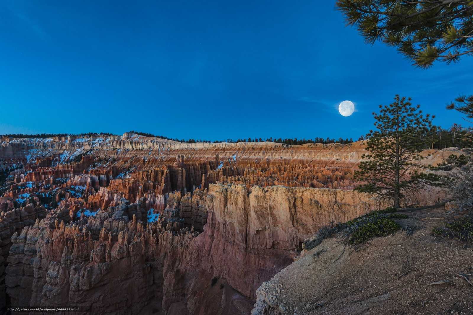 Download wallpaper Bryce canyon,  National Park,  Bryce Canyon,  sunset free desktop wallpaper in the resolution 2000x1334 — picture №649925