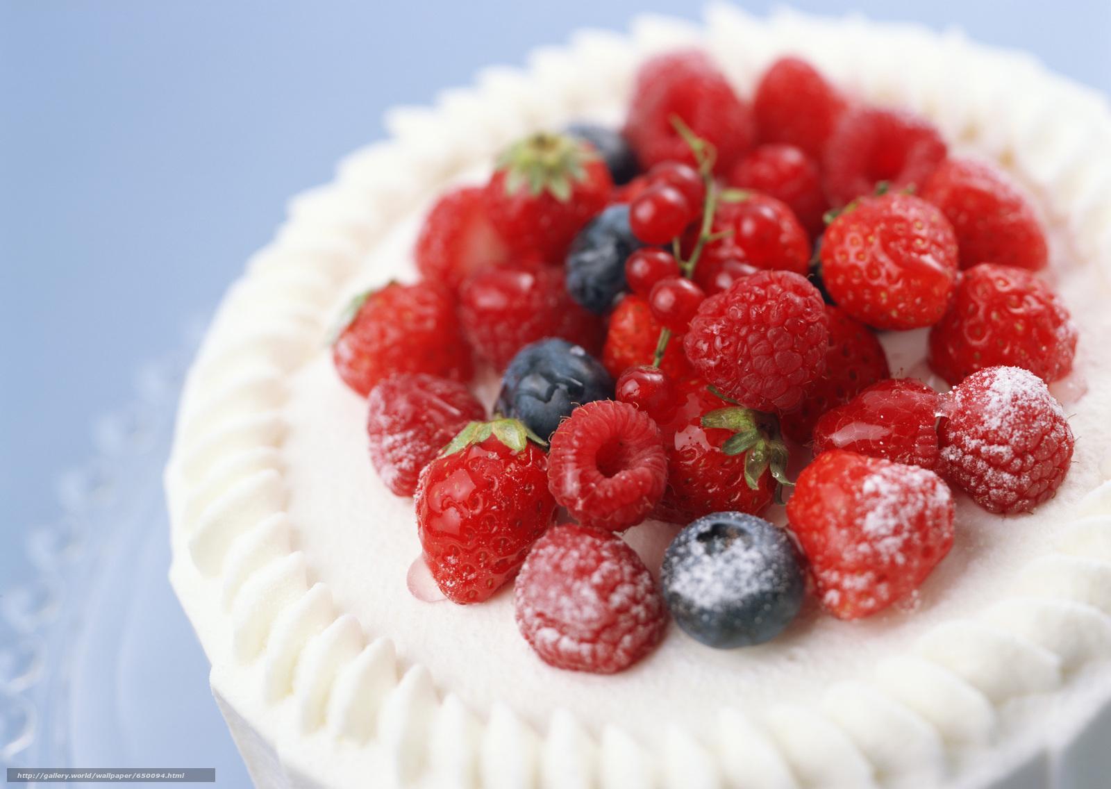 Скачать обои ягоды,  малина,  черника,  клубника бесплатно для рабочего стола в разрешении 2950x2094 — картинка №650094