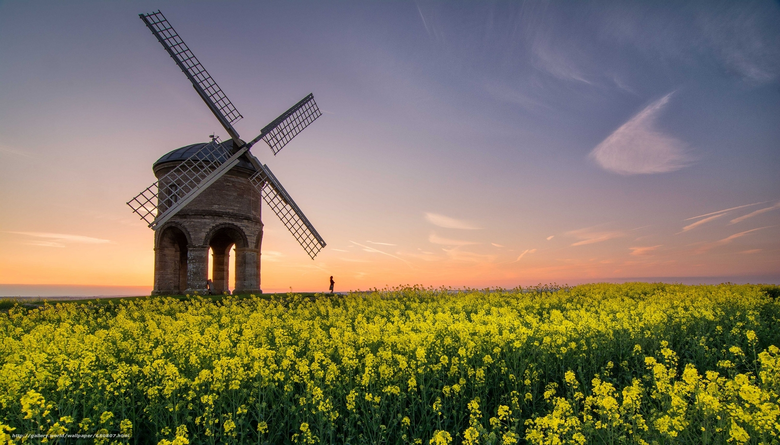 Warwickshire United Kingdom  city pictures gallery : Download wallpaper Chesterton Windmill, Warwickshire, United Kingdom ...