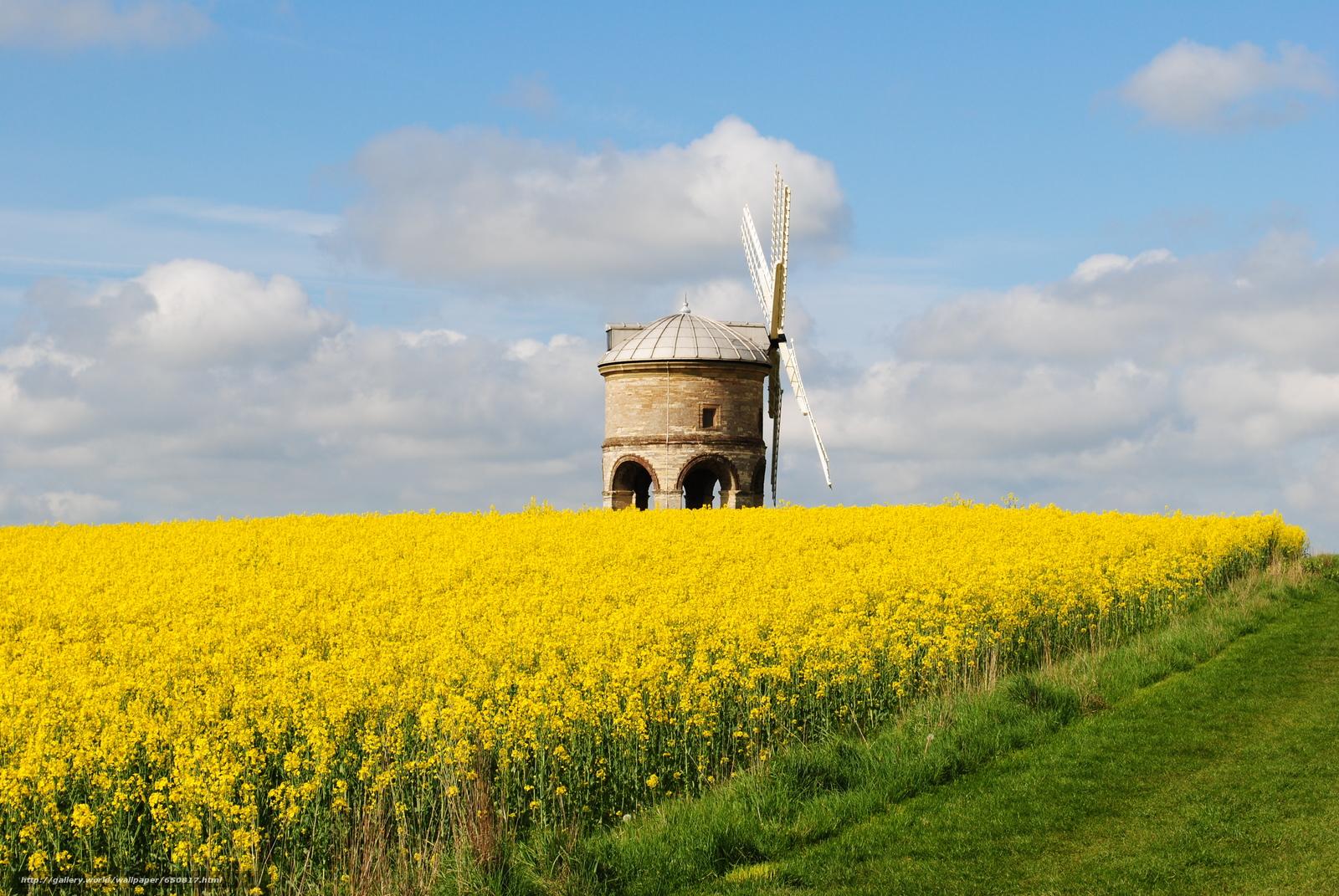 Скачать обои Честертон ветряная мельница,  Уорикшир,  Великобритания,  Chesterton Windmill бесплатно для рабочего стола в разрешении 3872x2592 — картинка №650817