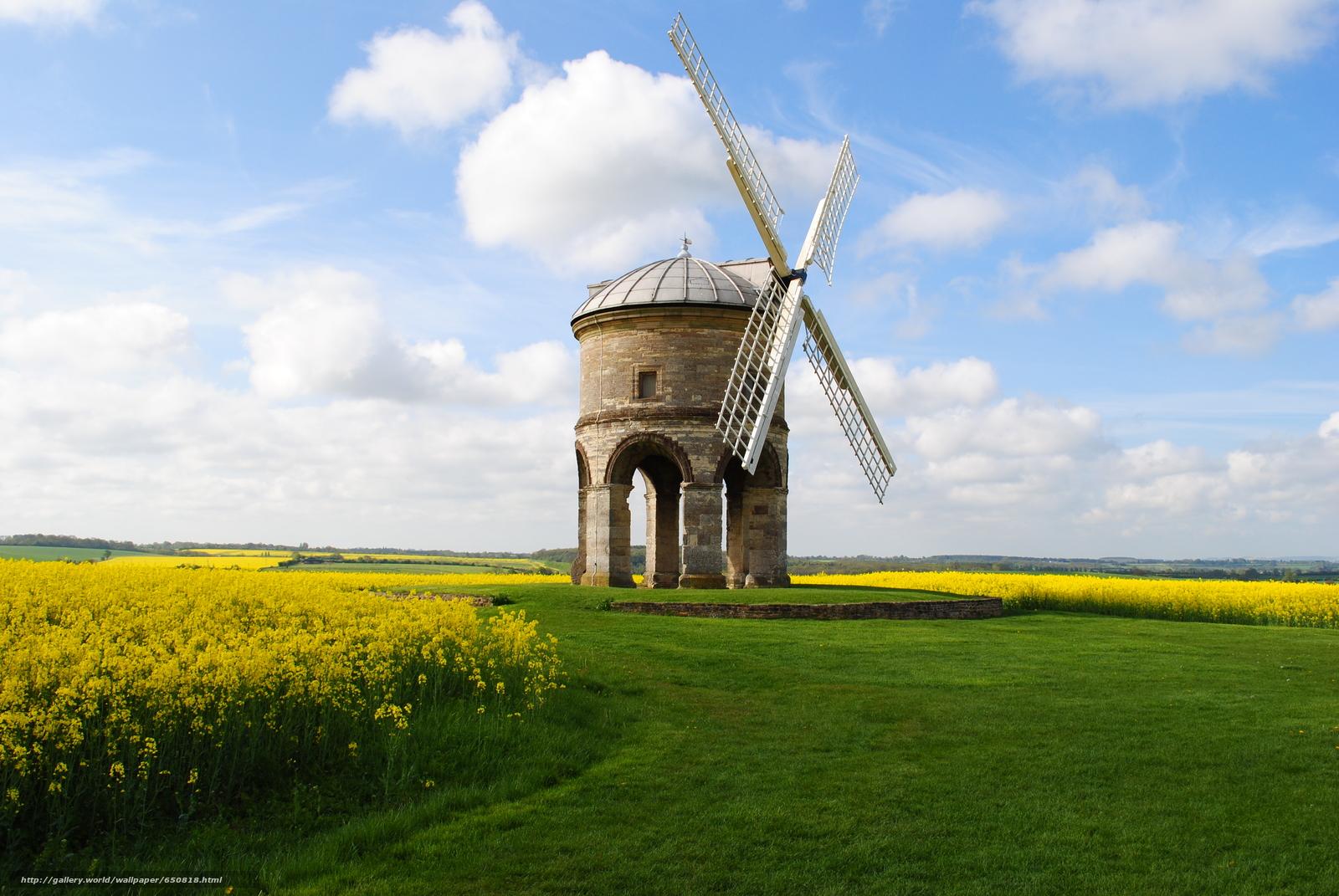 Скачать обои Честертон ветряная мельница,  Уорикшир,  Великобритания,  Chesterton Windmill бесплатно для рабочего стола в разрешении 3872x2592 — картинка №650818