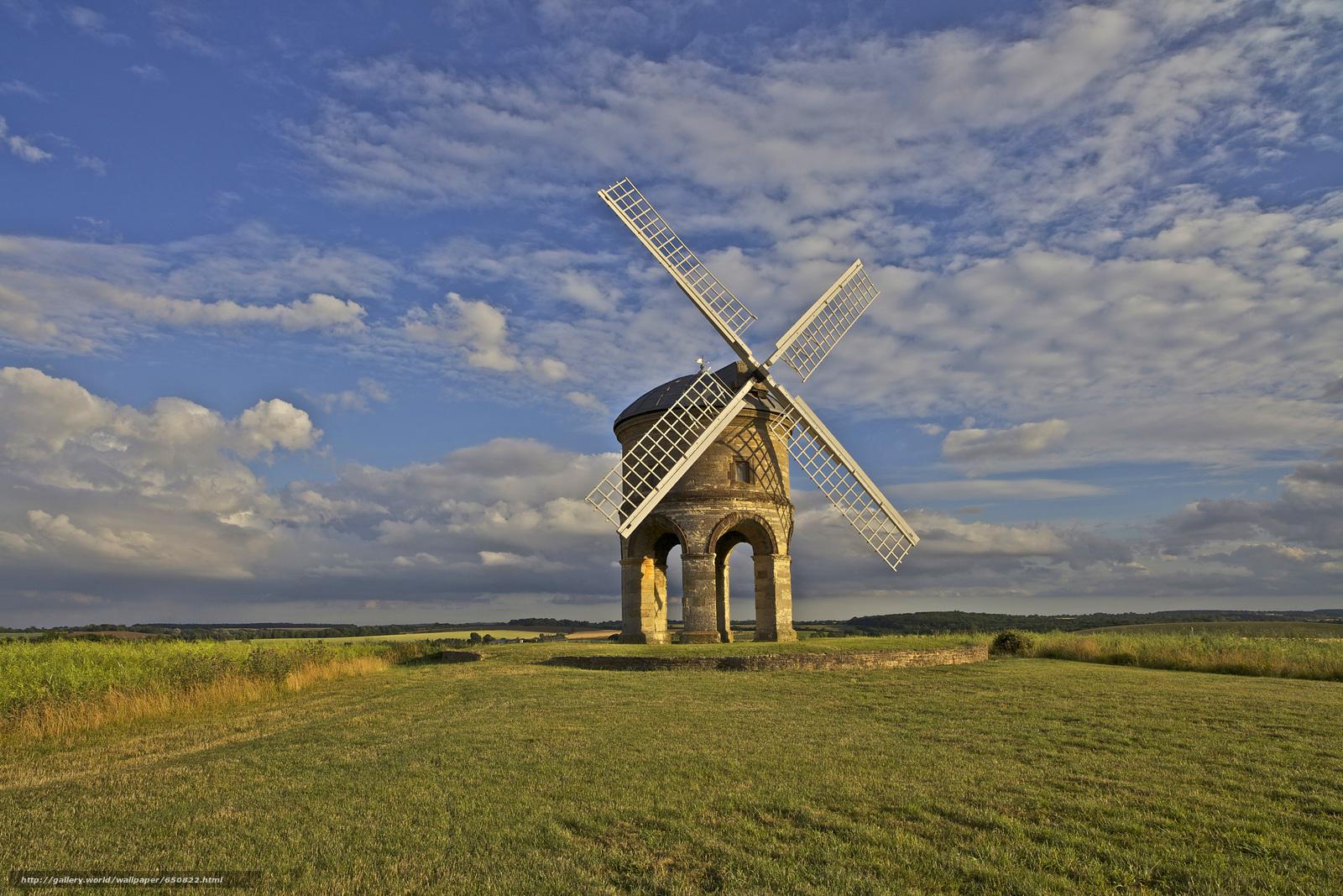 Скачать обои Честертон ветряная мельница,  Уорикшир,  Великобритания,  Chesterton Windmill бесплатно для рабочего стола в разрешении 3600x2400 — картинка №650822