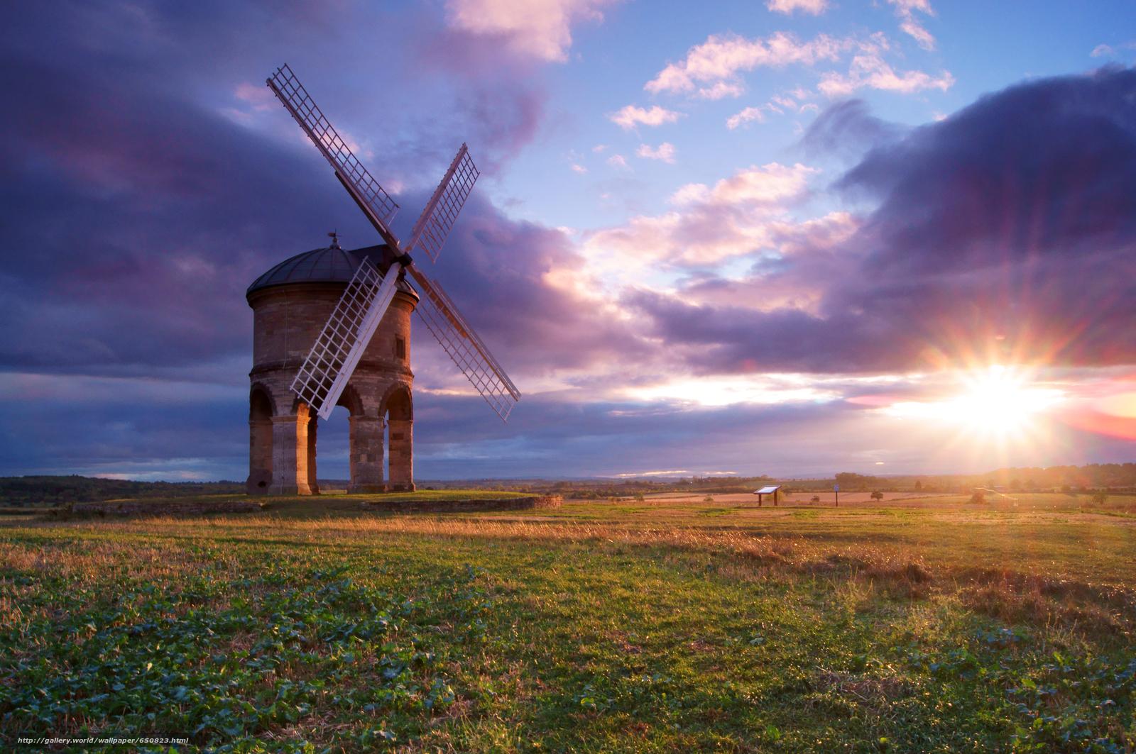 scaricare gli sfondi Chesterton Windmill,  Warwickshire,  Regno Unito,  Chesterton Windmill Sfondi gratis per la risoluzione del desktop 4912x3264 — immagine №650823