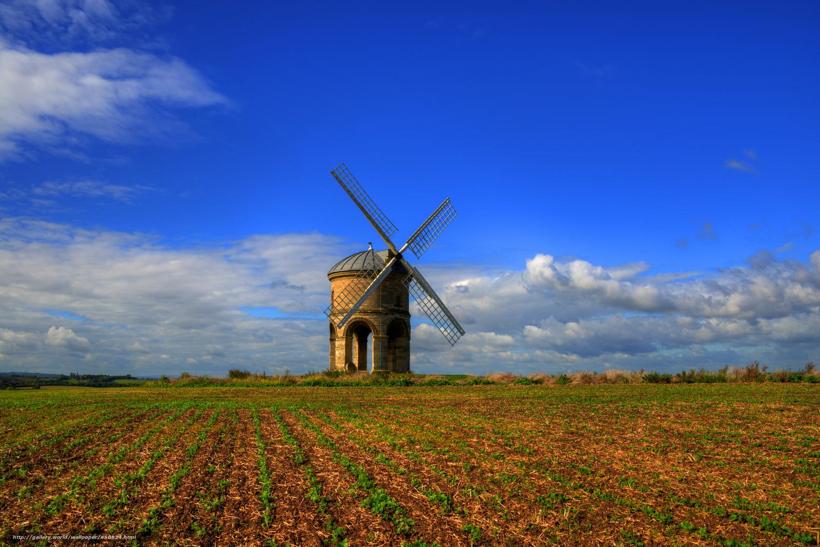 Скачать обои Честертон ветряная мельница,  Уорикшир,  Великобритания,  Chesterton Windmill бесплатно для рабочего стола в разрешении 7356x4910 — картинка №650824