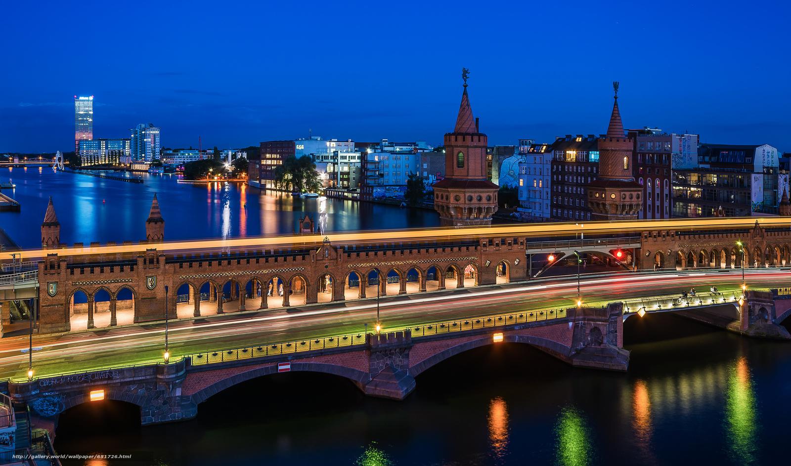 scaricare gli sfondi Berlino,  Berlino,  capitale,  Deutschland Sfondi gratis per la risoluzione del desktop 2048x1207 — immagine №651726