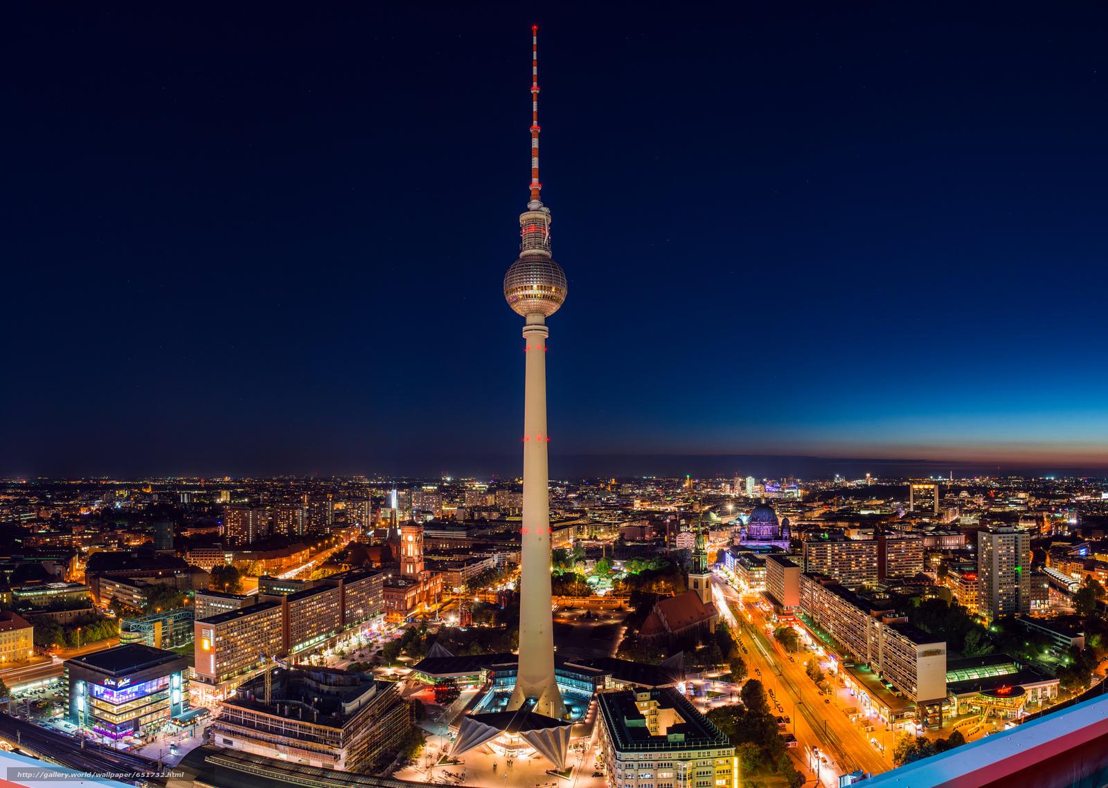 scaricare gli sfondi Berlino,  Berlino,  capitale,  Deutschland Sfondi gratis per la risoluzione del desktop 2048x1458 — immagine №651732