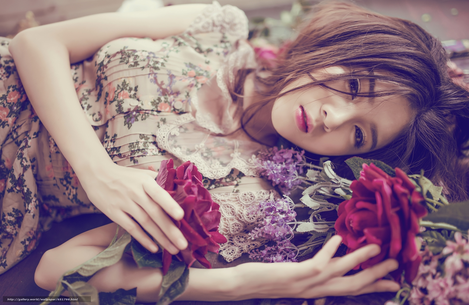 Download wallpaper Lilly Luta,  Asian,  view,  Flowers free desktop wallpaper in the resolution 7360x4786 — picture №651798
