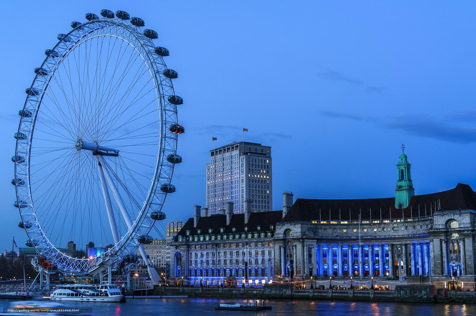 Скачать обои Лондон,  город,  столица Соединённого Королевства Великобритании и Северной Ирланди бесплатно для рабочего стола в разрешении 2048x1361 — картинка №651898