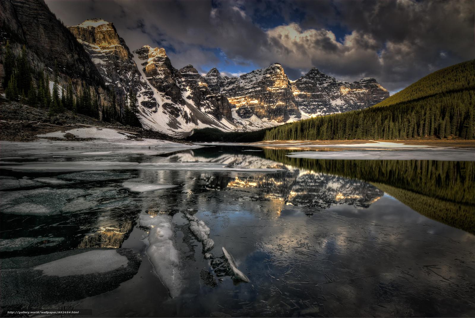 scaricare gli sfondi lago,  Montagne,  alberi,  paesaggio Sfondi gratis per la risoluzione del desktop 2048x1374 — immagine №652654