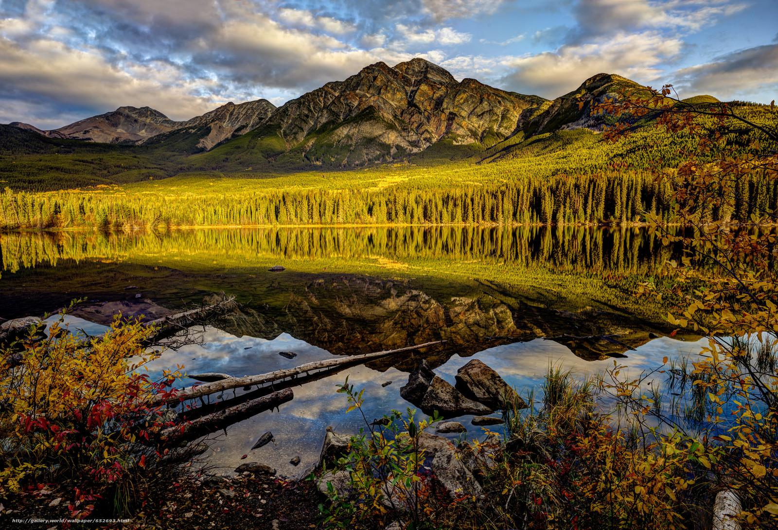 scaricare gli sfondi lago,  Montagne,  alberi,  paesaggio Sfondi gratis per la risoluzione del desktop 2048x1395 — immagine №652693