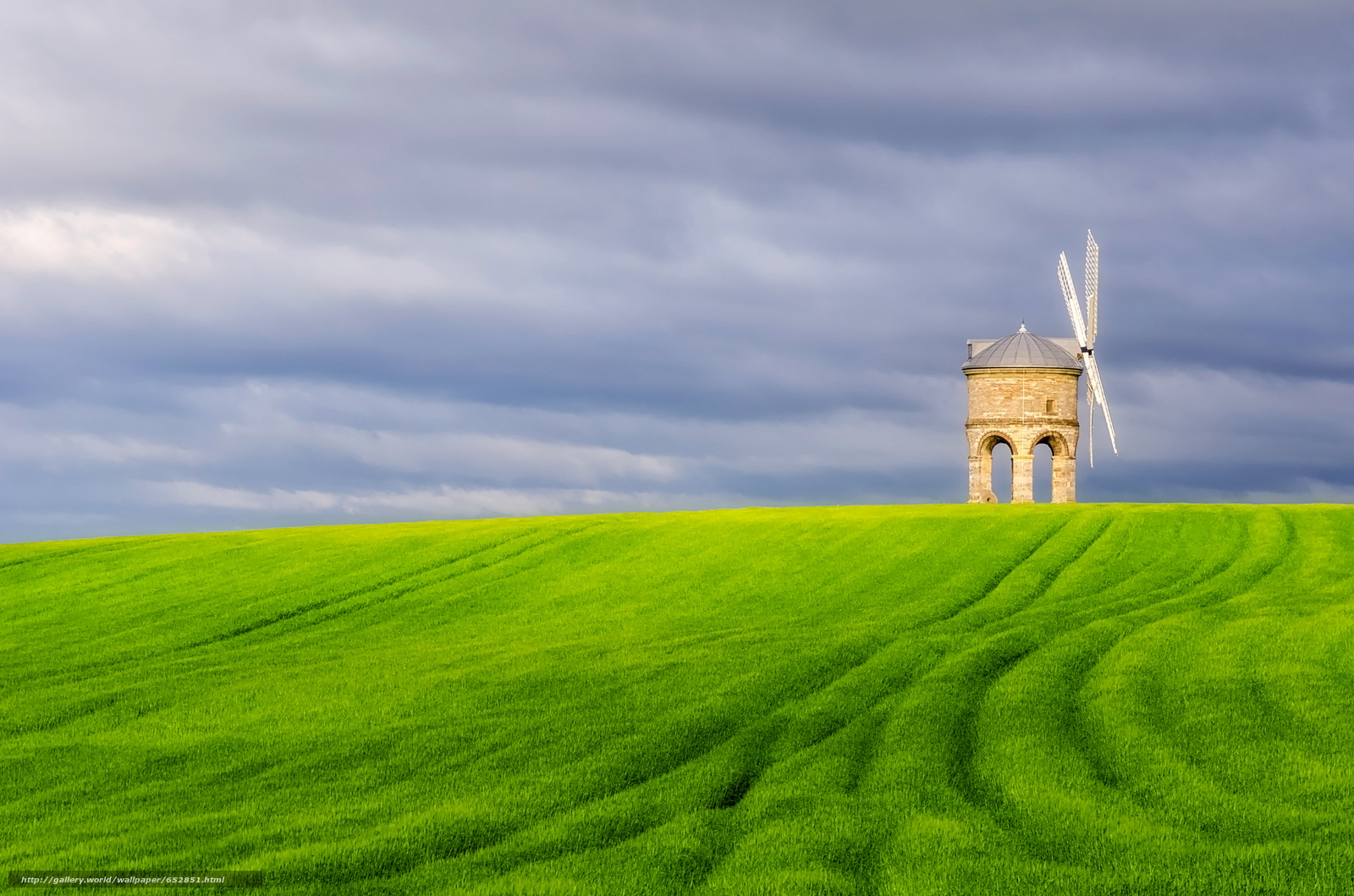 Скачать обои Честертон ветряная мельница,  Уорикшир,  Великобритания,  Chesterton Windmill бесплатно для рабочего стола в разрешении 2048x1356 — картинка №652851
