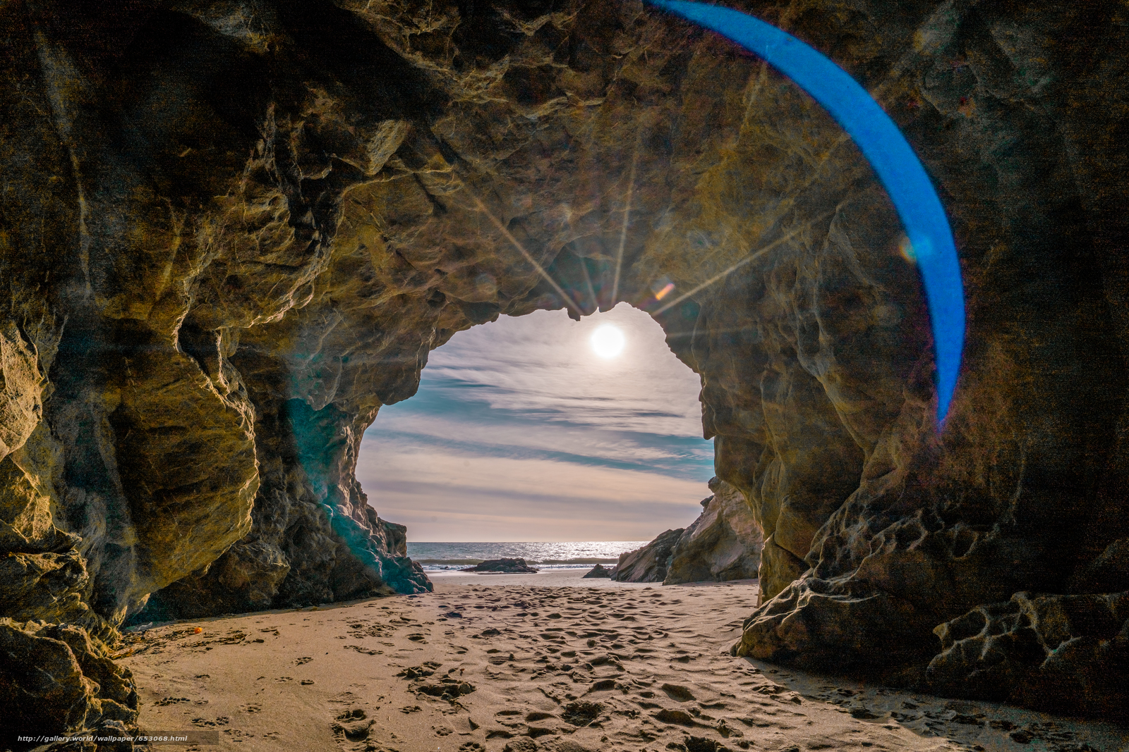 Скачать обои Malibu,  закат,  море,  волны бесплатно для рабочего стола в разрешении 7835x5226 — картинка №653068