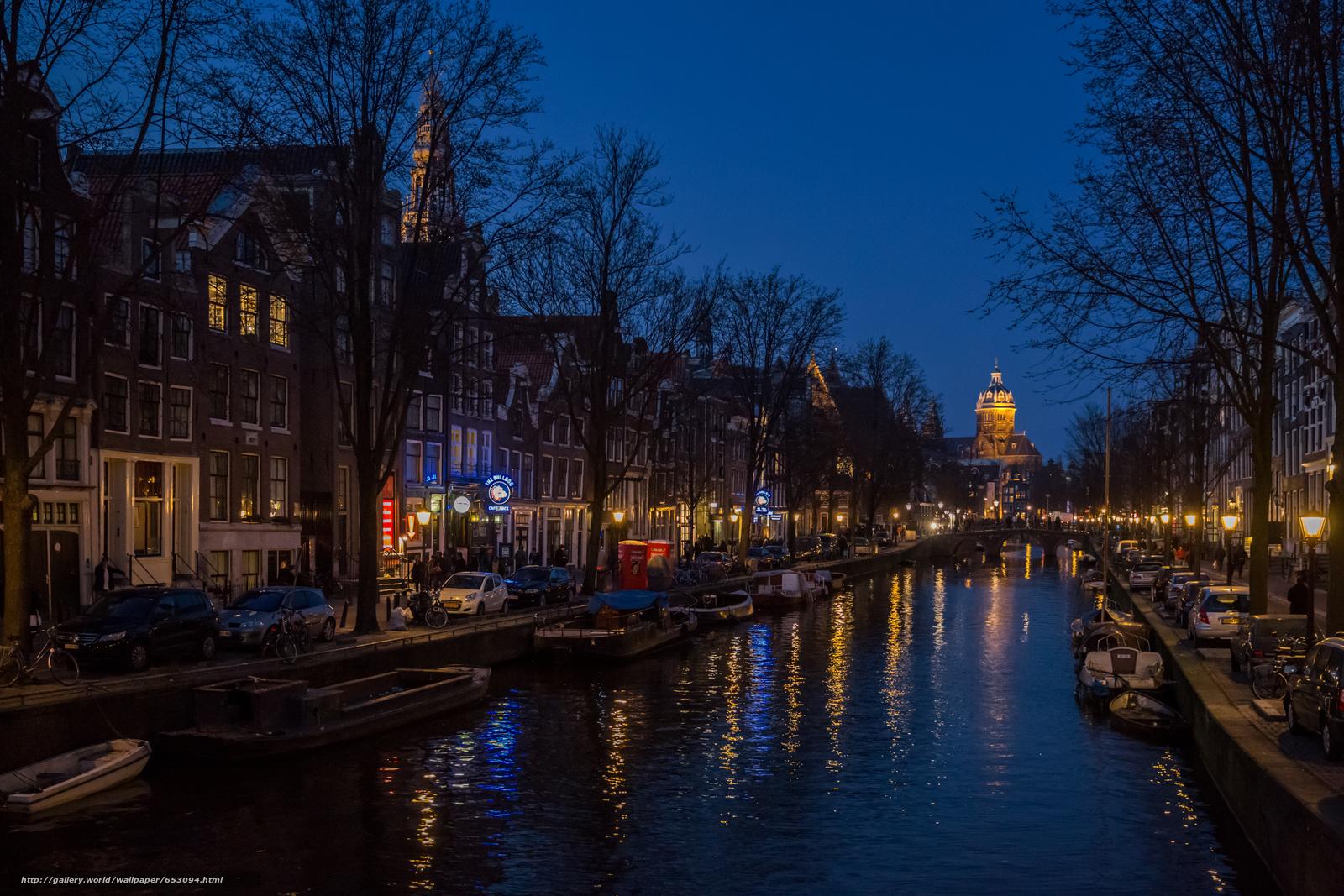 Tlcharger Fond d'ecran Amsterdam,  Ville Amsterdam,  capitale et plus grande ville des Pays-Bas,  Pays-Bas Fonds d'ecran gratuits pour votre rsolution du bureau 5760x3840 — image №653094
