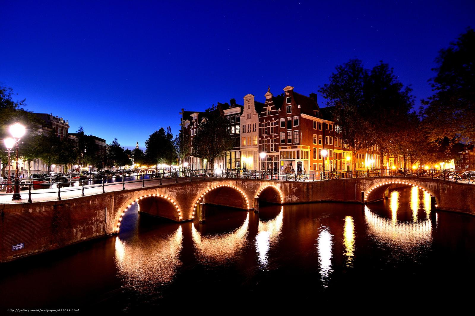 壁紙をダウンロード アムステルダム,  アムステルダム,  資本とオランダの最大の都市,  オランダ デスクトップの解像度のための無料壁紙 2048x1365 — 絵 №653099
