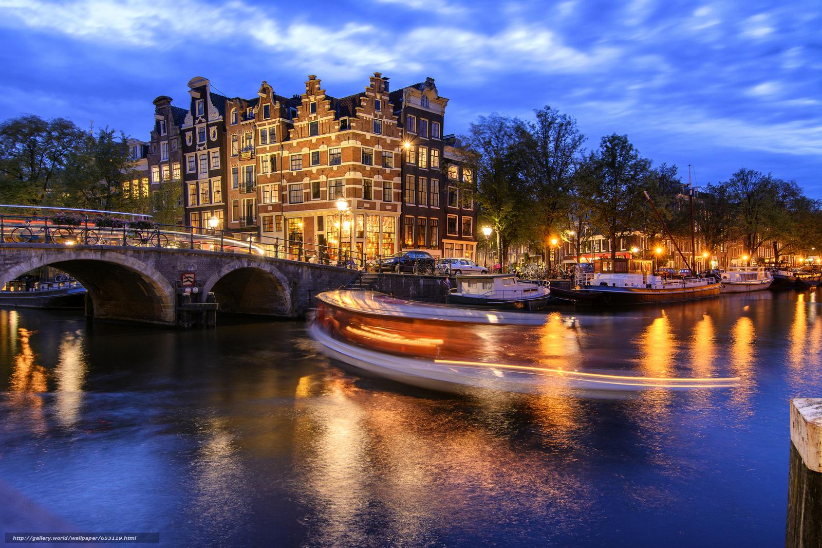 Descargar gratis Amsterdam,  Amsterdam,  capital y ciudad más grande de los Países Bajos,  Países Bajos Fondos de escritorio en la resolucin 2048x1365 — imagen №653119