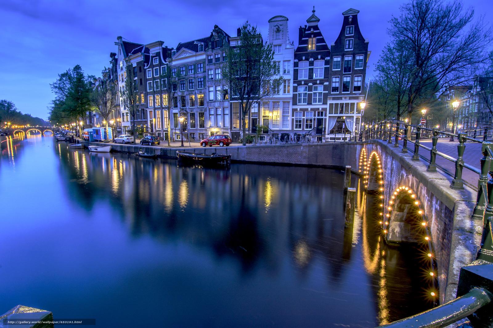 Descargar gratis Amsterdam,  Amsterdam,  capital y ciudad más grande de los Países Bajos,  Países Bajos Fondos de escritorio en la resolucin 2048x1365 — imagen №653191