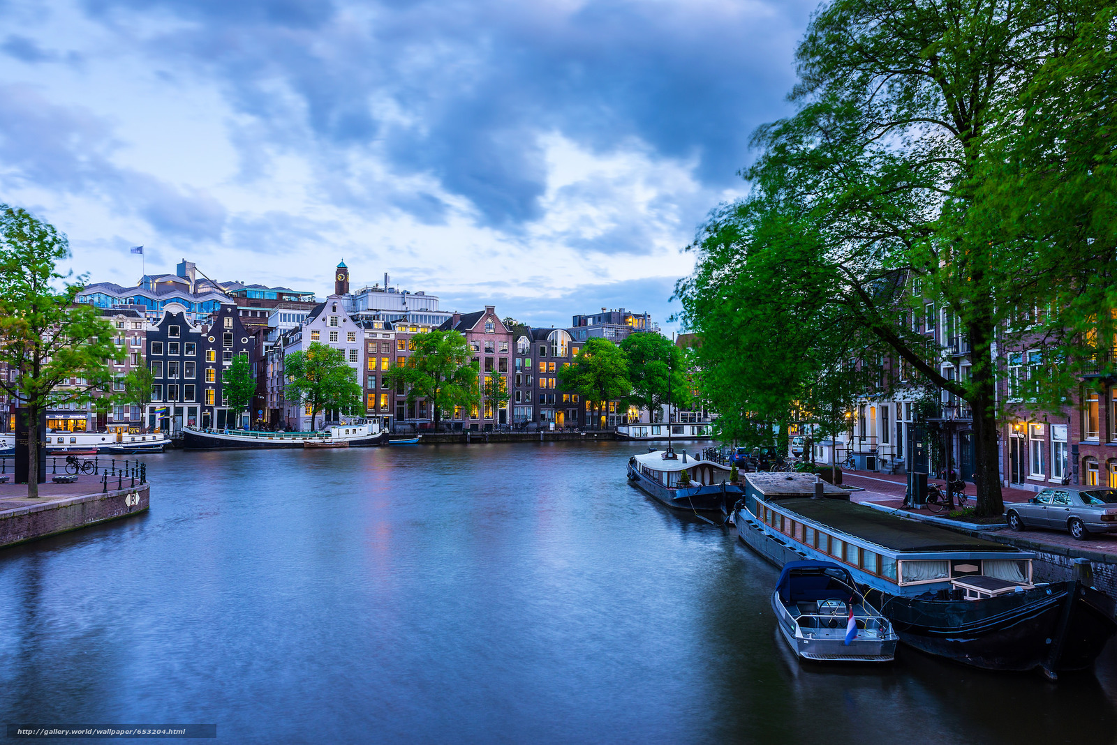 Download wallpaper Amsterdam,  Amsterdam,  capital and largest city of the Netherlands,  Netherlands free desktop wallpaper in the resolution 2048x1367 — picture №653204