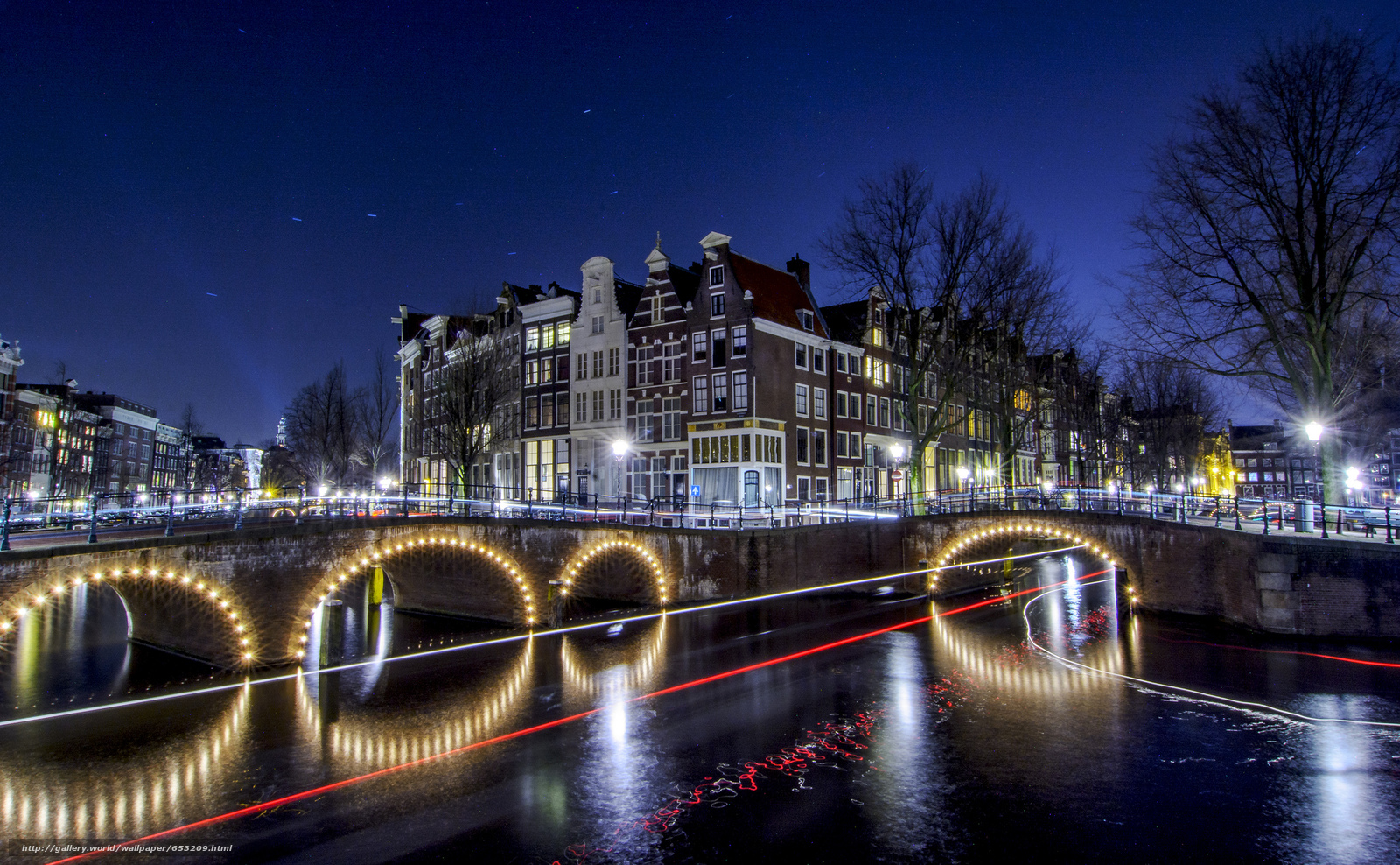 Download wallpaper Amsterdam,  Amsterdam,  capital and largest city of the Netherlands,  Netherlands free desktop wallpaper in the resolution 2048x1264 — picture №653209