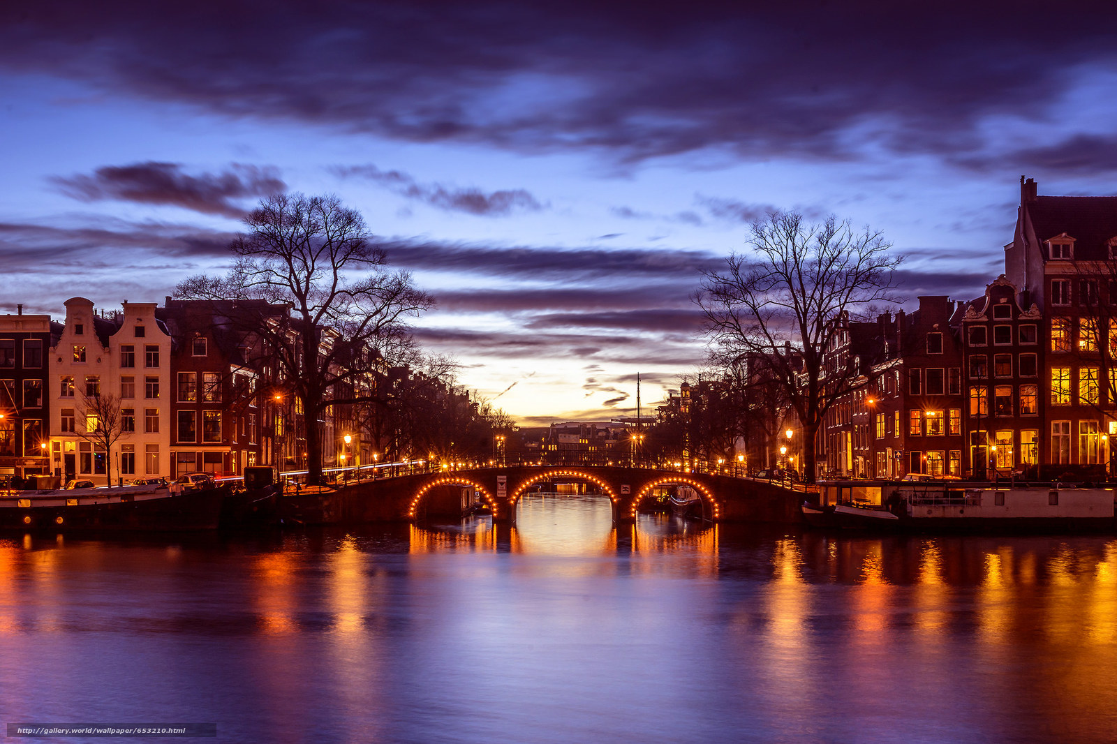 Download wallpaper Amsterdam,  Amsterdam,  capital and largest city of the Netherlands,  Netherlands free desktop wallpaper in the resolution 2048x1365 — picture №653210