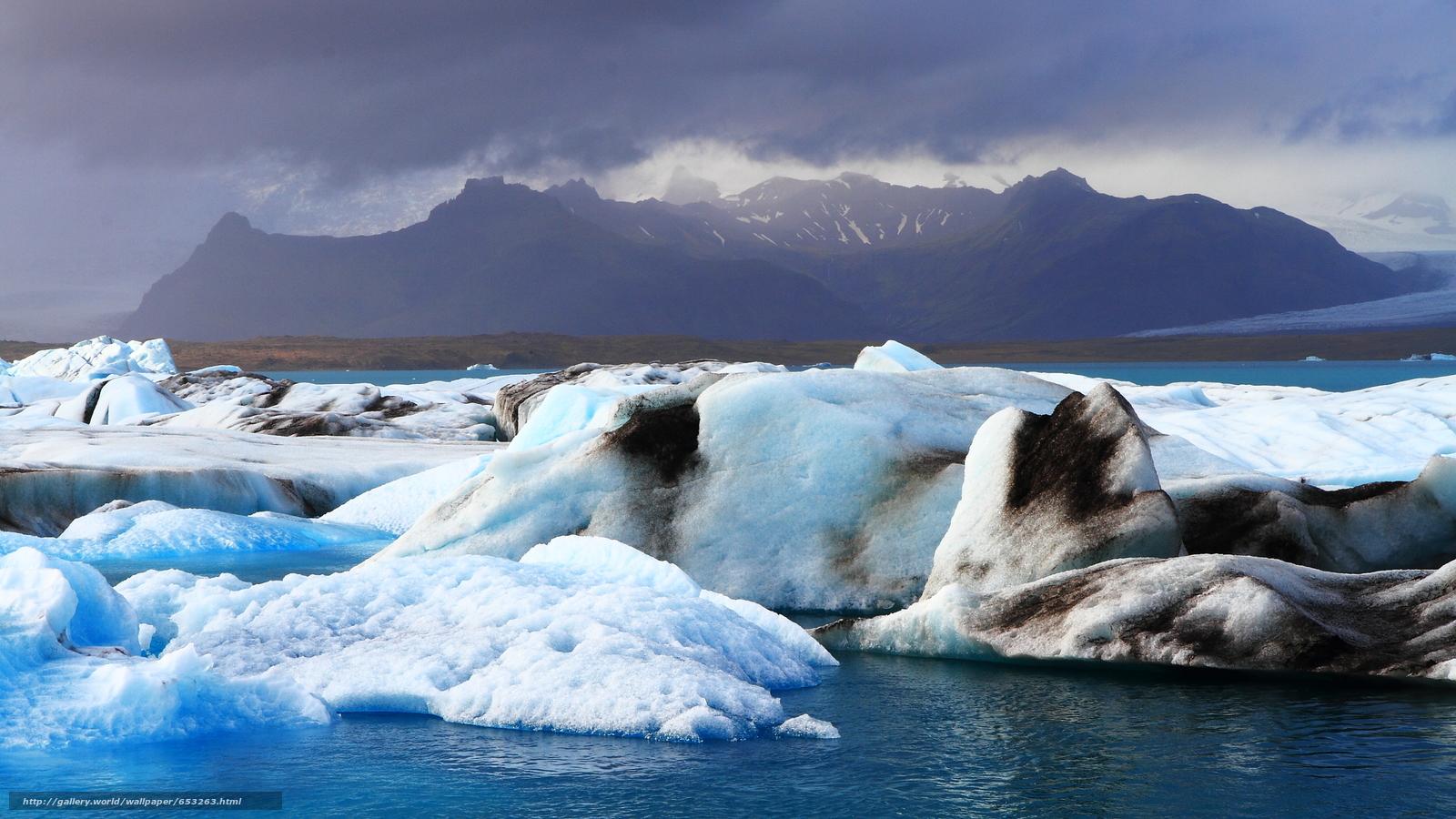 scaricare gli sfondi Islanda,  ghiaccio,  gelato,  ghiacciaio Sfondi gratis per la risoluzione del desktop 2500x1406 — immagine №653263