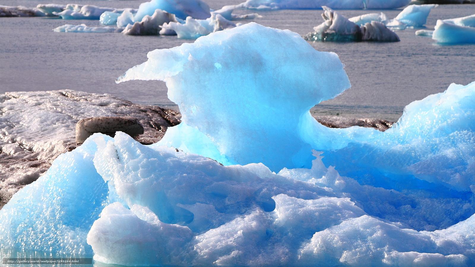 Скачать обои Исландия,  льды,  лед,  ледник бесплатно для рабочего стола в разрешении 2300x1293 — картинка №653264