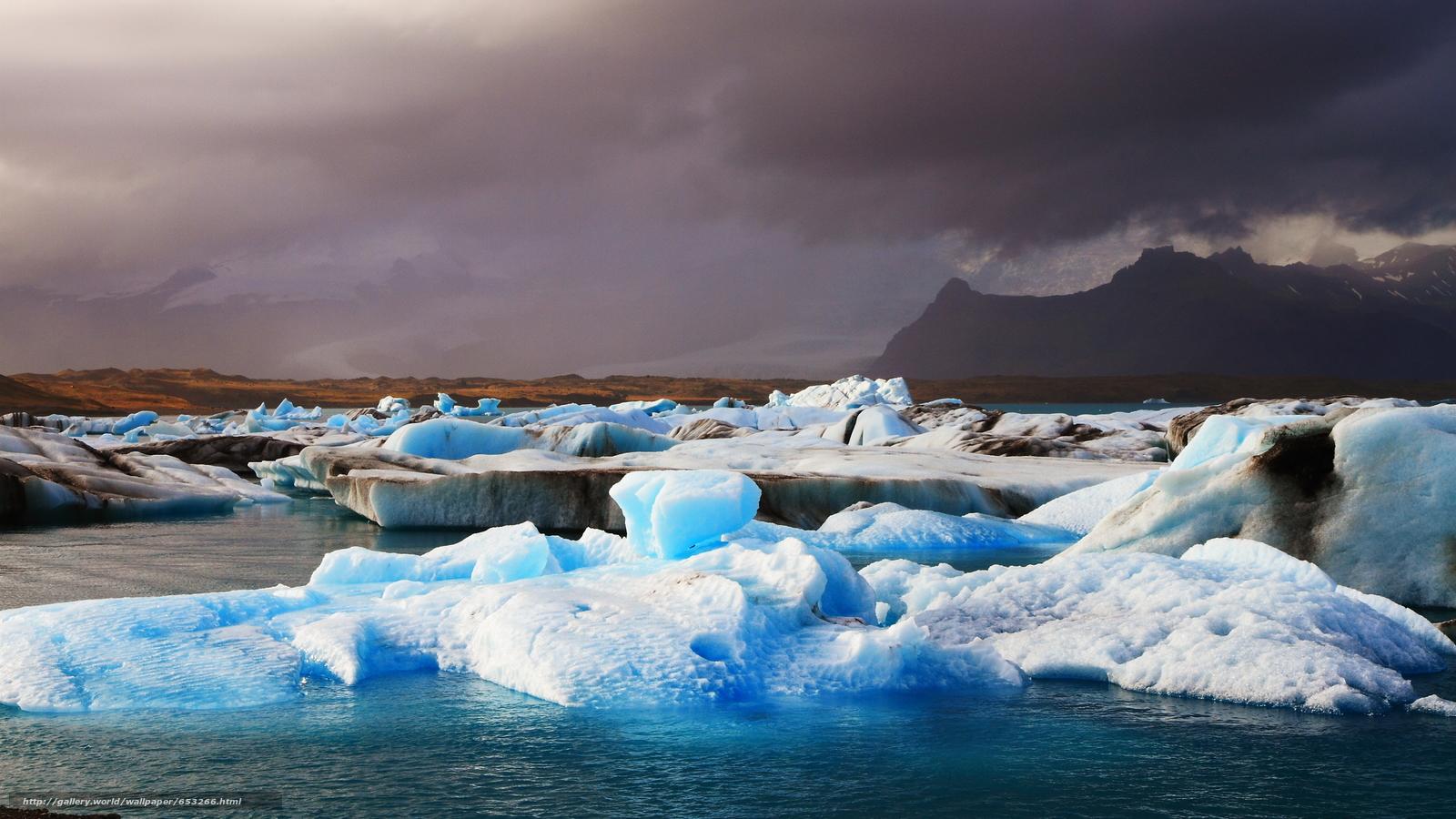 Baixar Wallpaper Islândia,  gelo,  gelo,  geleira Papis de parede grtis na resoluo 2600x1462 — quadro №653266