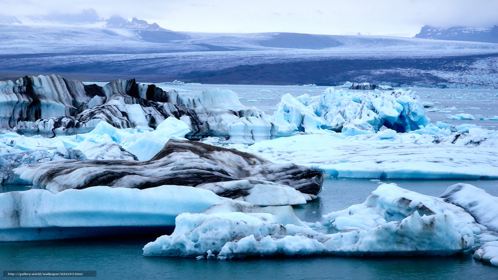 Baixar Wallpaper Islândia,  gelo,  gelo,  geleira Papis de parede grtis na resoluo 3840x2160 — quadro №653267