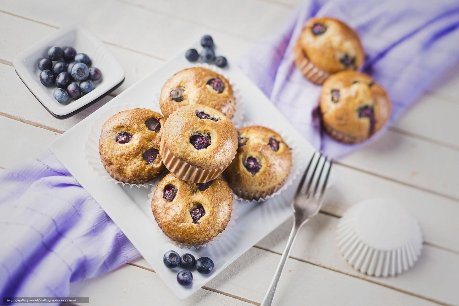 Скачать обои кекс,  кексы,  десерт,  сладости бесплатно для рабочего стола в разрешении 2048x1365 — картинка №653411
