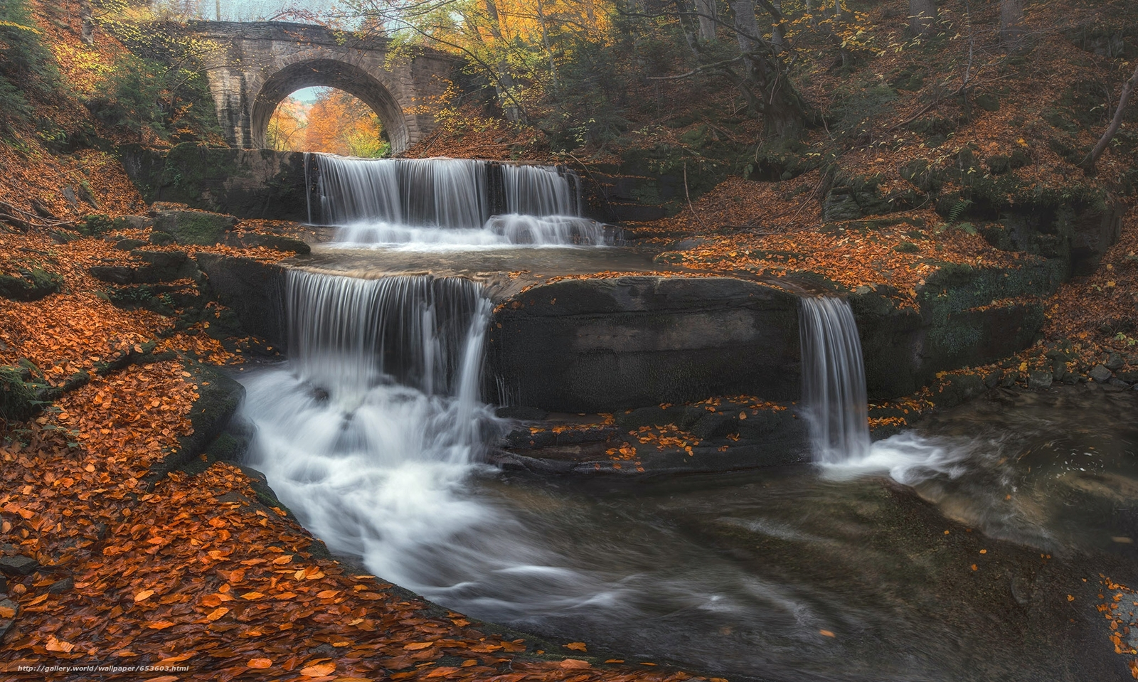 Download Hintergrund Bulgarien,  Bulgarien,  Wasserfall,  Kaskade Freie desktop Tapeten in der Auflosung 2048x1228 — bild №653603