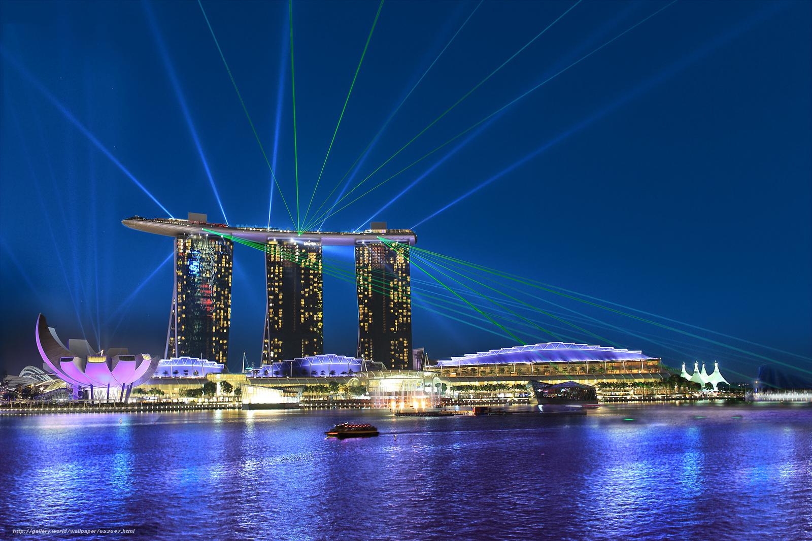 Скачать обои Сингапур,  Singapore,  город бесплатно для рабочего стола в разрешении 2048x1365 — картинка №653647