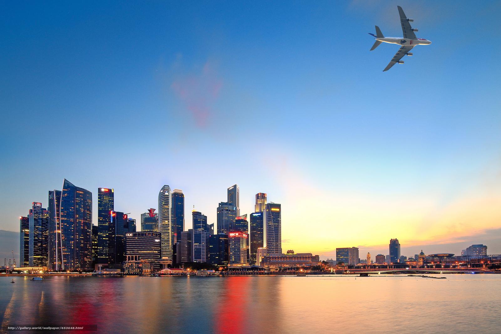 壁紙をダウンロード シンガポール,  シンガポール,  都市 デスクトップの解像度のための無料壁紙 2048x1365 — 絵 №653648