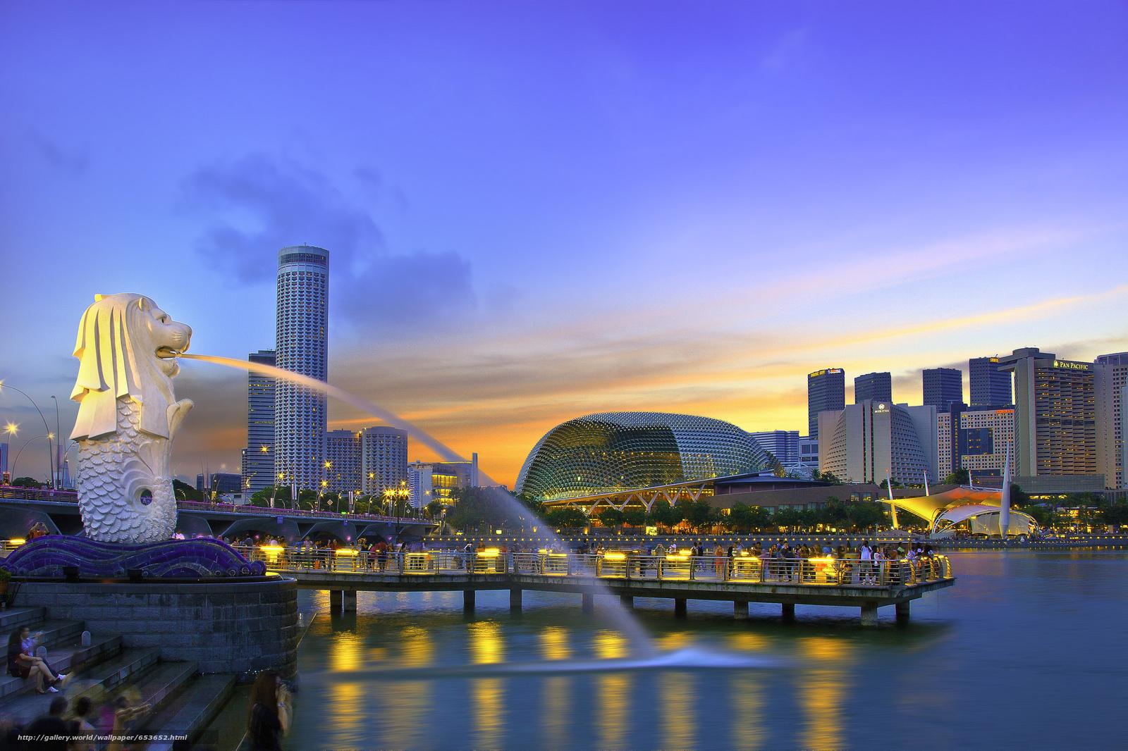 Скачать обои Сингапур,  Singapore,  город бесплатно для рабочего стола в разрешении 2048x1365 — картинка №653652