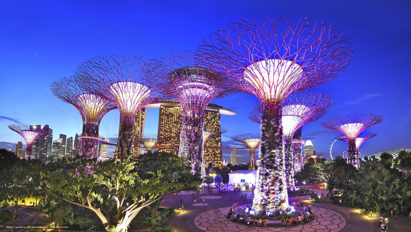 Скачать обои Сингапур,  Singapore,  город бесплатно для рабочего стола в разрешении 2048x1159 — картинка №653660