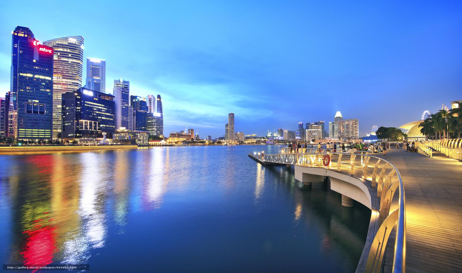 Descargar gratis Singapur,  Singapur,  ciudad Fondos de escritorio en la resolucin 2048x1213 — imagen №653665