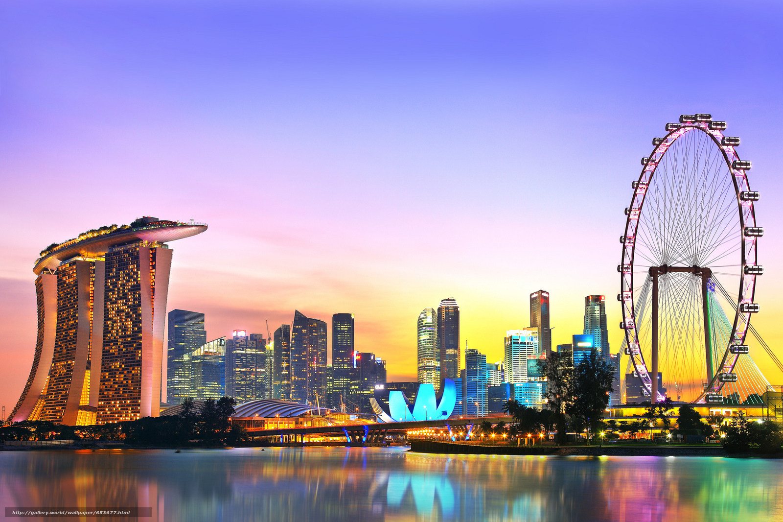 Скачать обои Сингапур,  Singapore,  город бесплатно для рабочего стола в разрешении 2048x1365 — картинка №653677