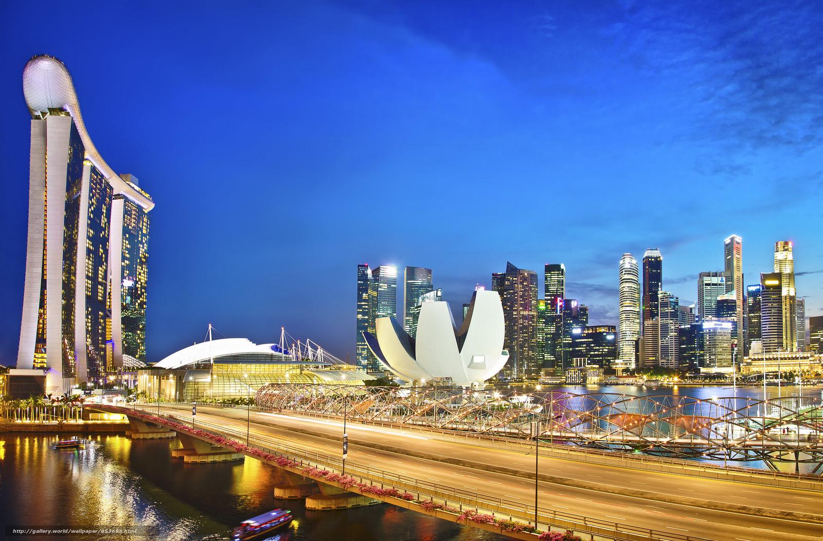 Скачать обои Сингапур,  Singapore,  город бесплатно для рабочего стола в разрешении 2048x1347 — картинка №653683