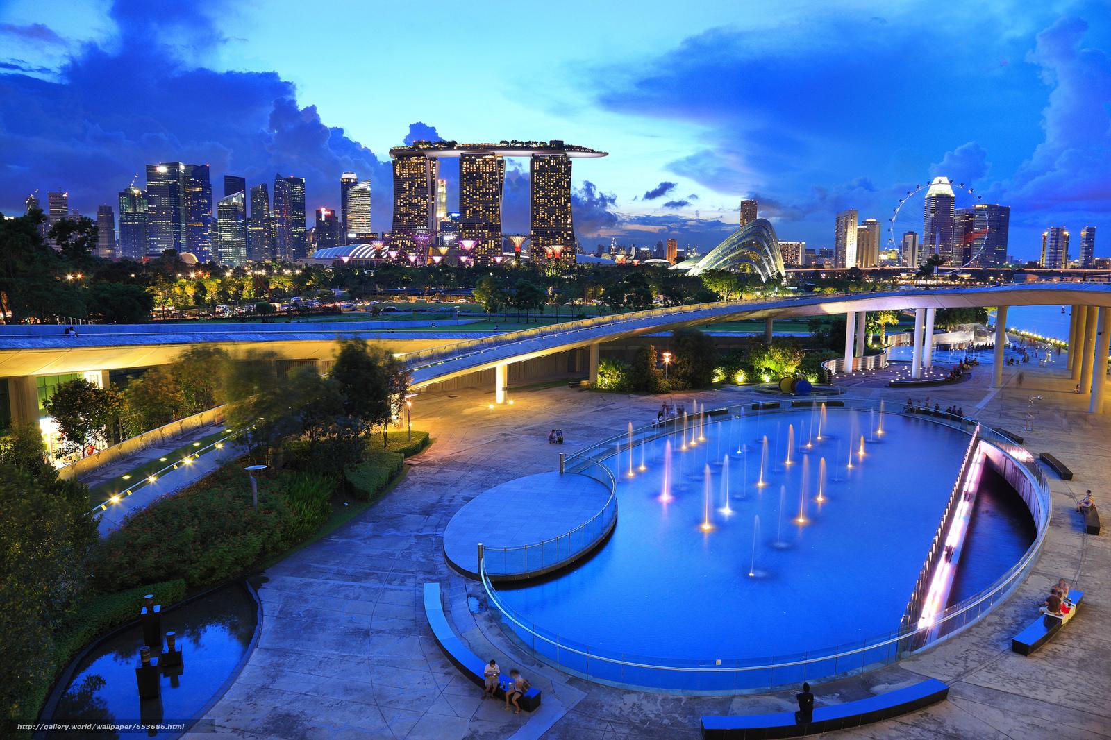 Скачать обои Сингапур,  Singapore,  город бесплатно для рабочего стола в разрешении 2048x1365 — картинка №653686