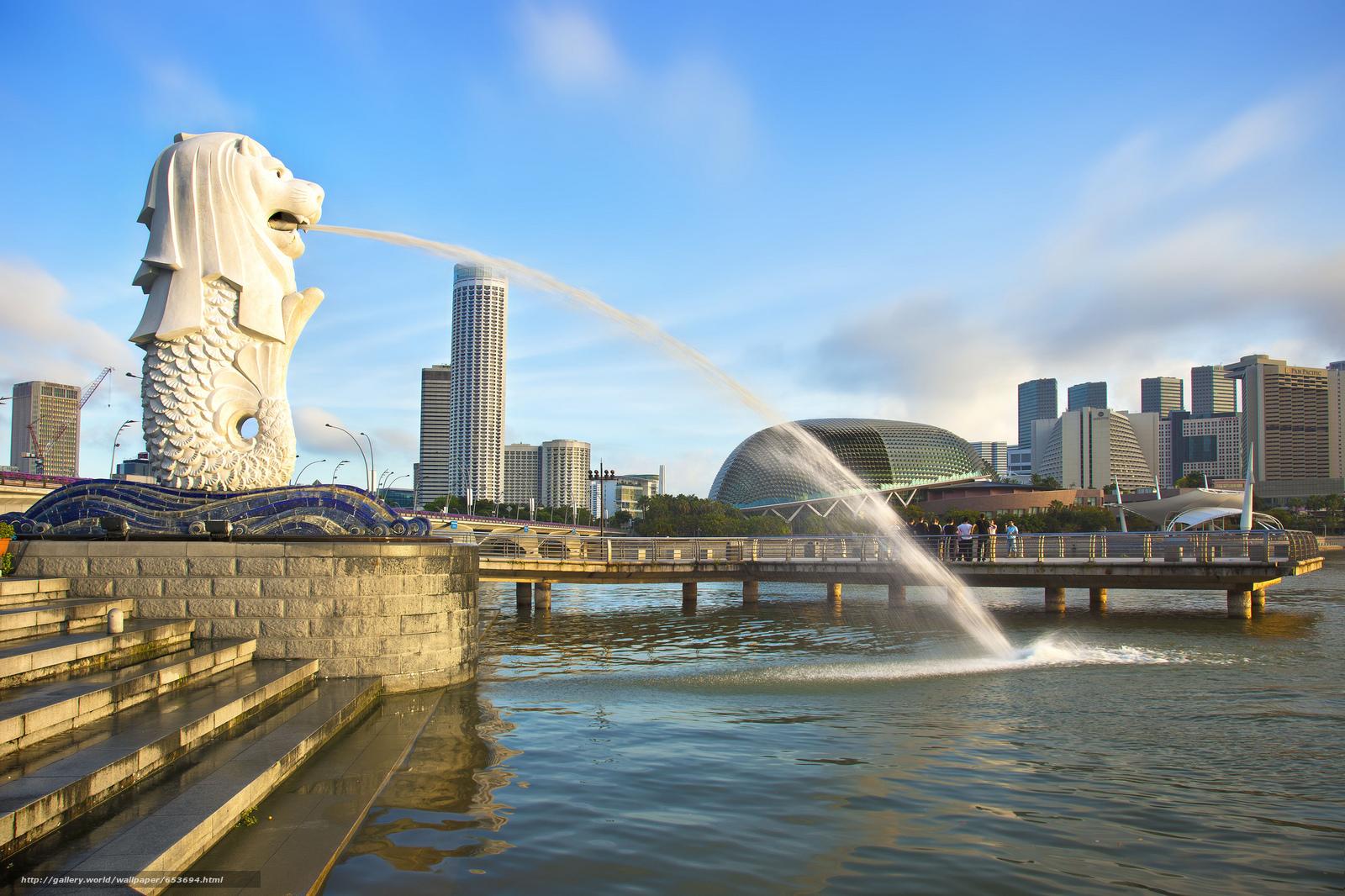 Скачать обои Сингапур,  Singapore,  город бесплатно для рабочего стола в разрешении 2048x1365 — картинка №653694