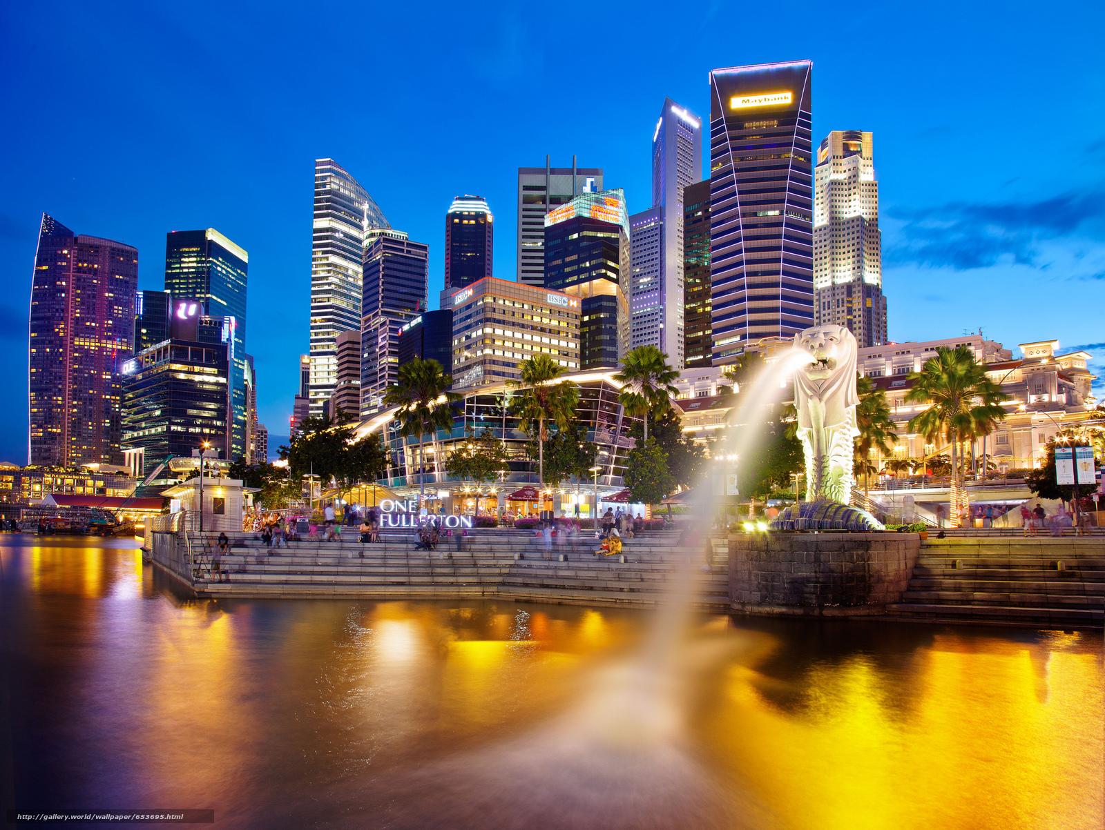 Скачать обои Сингапур,  Singapore,  город бесплатно для рабочего стола в разрешении 2048x1540 — картинка №653695