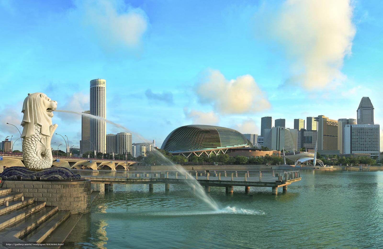 Скачать обои Сингапур,  Singapore,  город бесплатно для рабочего стола в разрешении 2048x1331 — картинка №653696