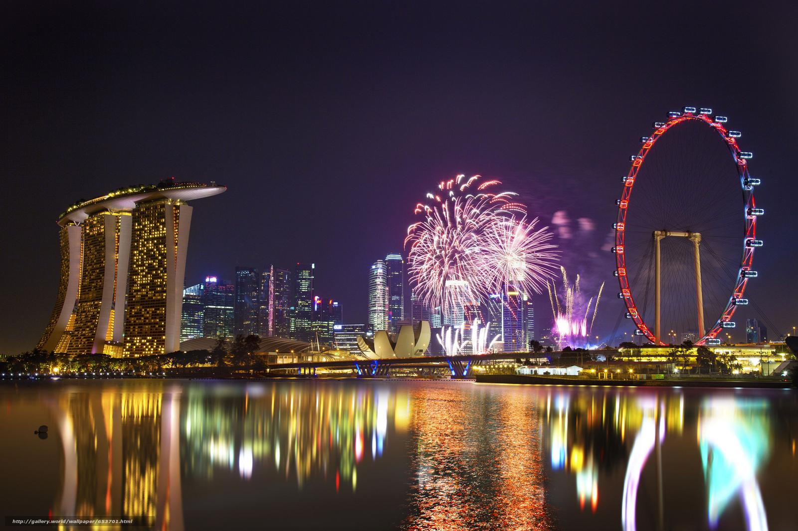 Скачать обои Сингапур,  Singapore,  город бесплатно для рабочего стола в разрешении 2048x1365 — картинка №653701