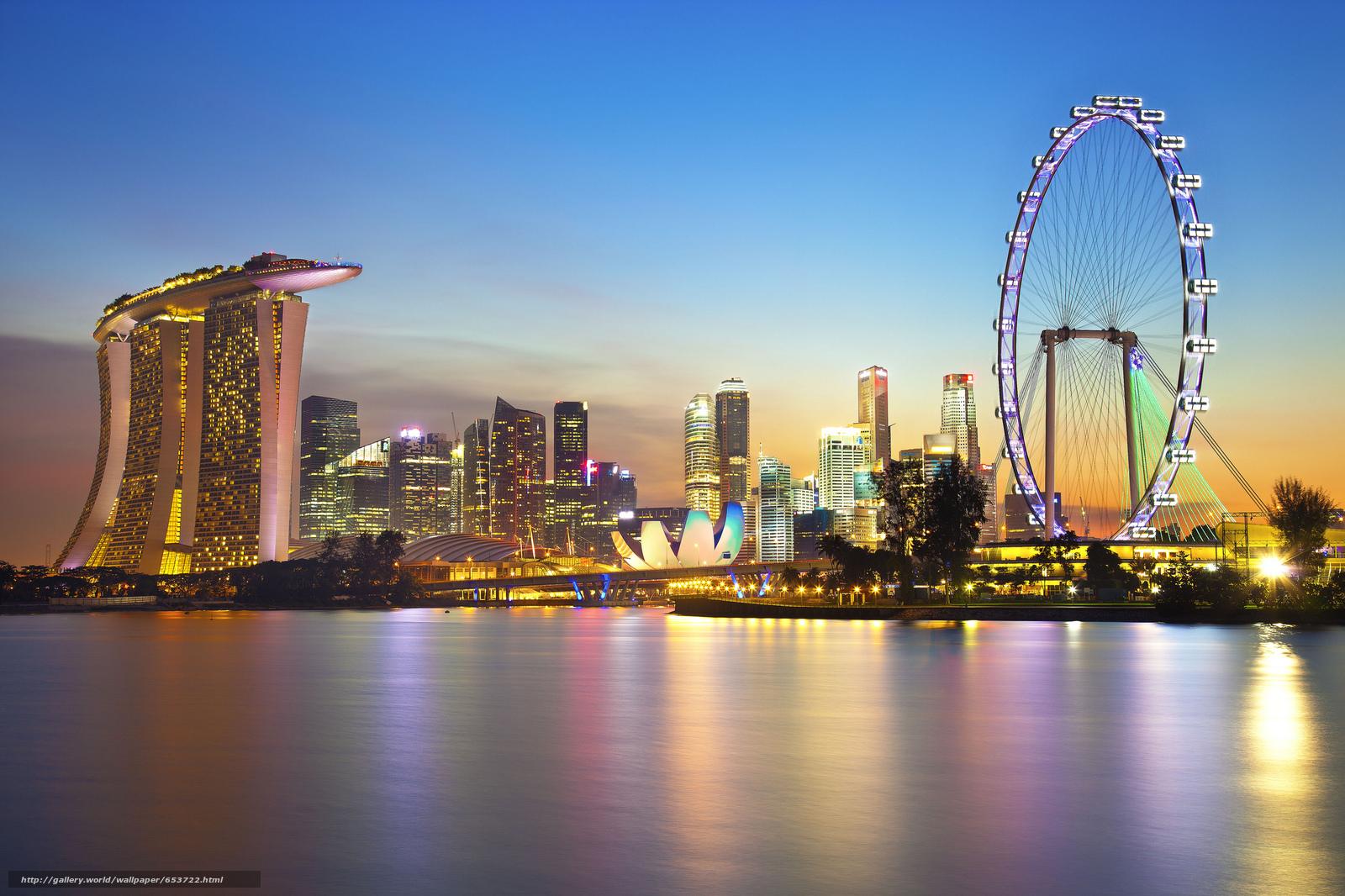 壁紙をダウンロード シンガポール,  シンガポール,  都市 デスクトップの解像度のための無料壁紙 2048x1365 — 絵 №653722