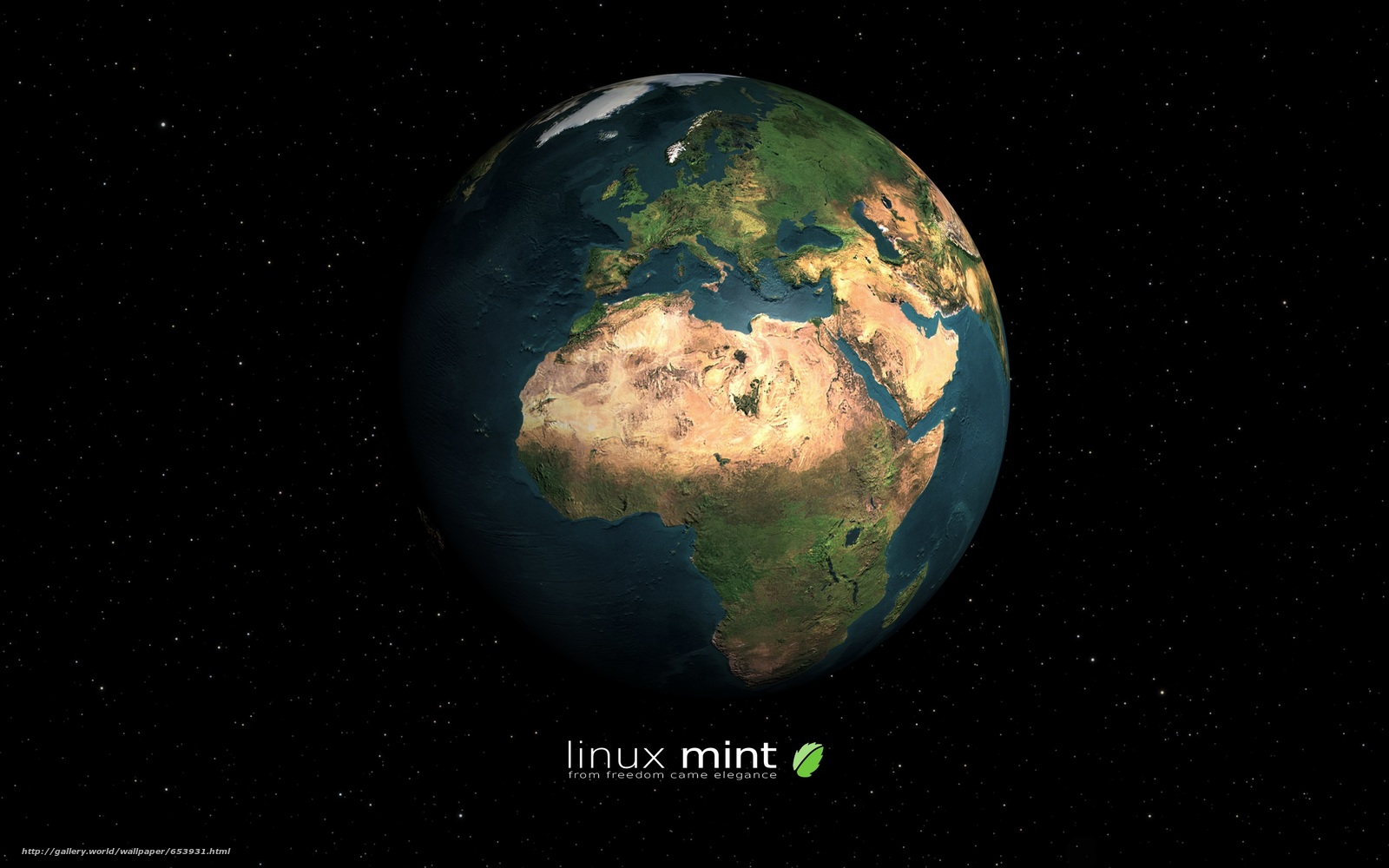 Download wallpaper Linux Mint,  mint,  operating system,  computer free desktop wallpaper in the resolution 2560x1600 — picture №653931