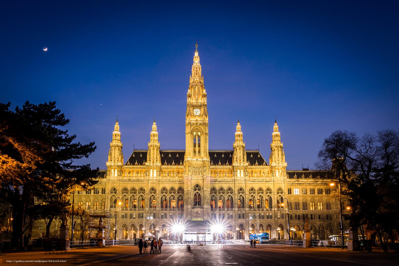 Download wallpaper Vienna,  Austria,  city free desktop wallpaper in the resolution 2048x1365 — picture №654245