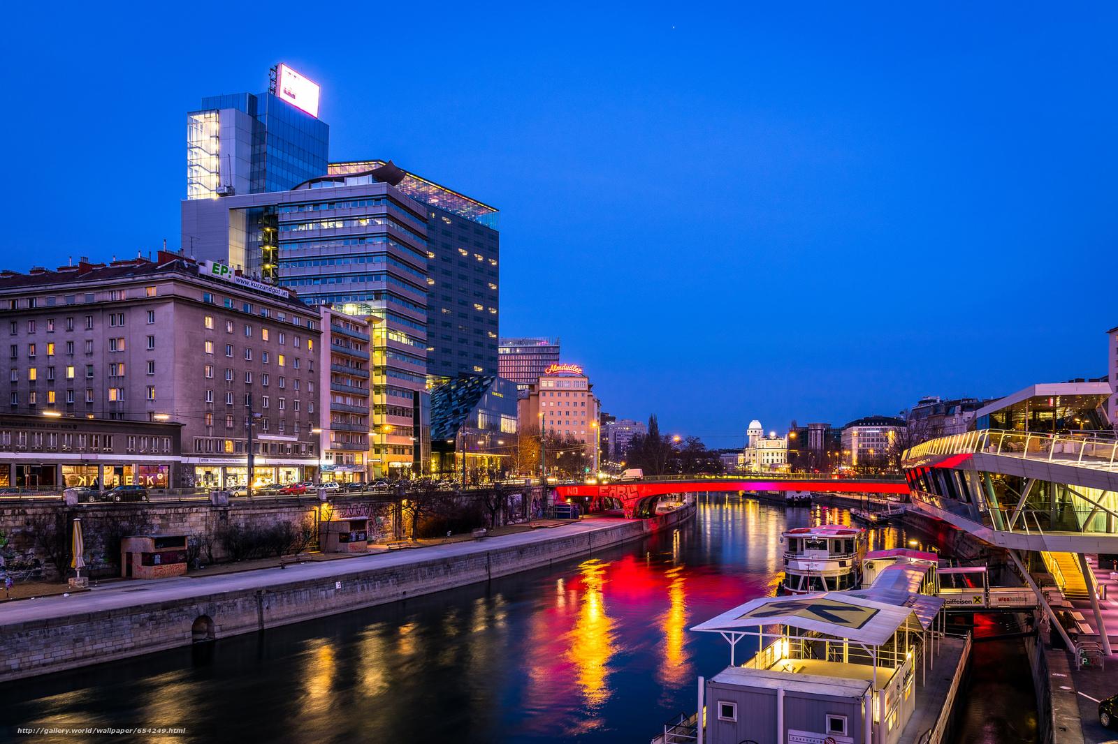 scaricare gli sfondi Vienna,  Austria,  città Sfondi gratis per la risoluzione del desktop 2048x1365 — immagine №654249